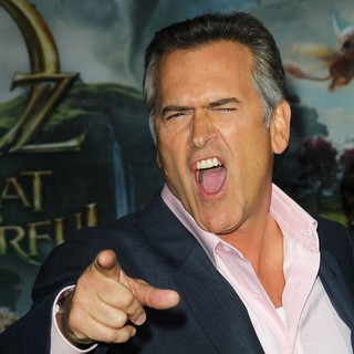 Bruce Campbell in Oz: The Great and Powerful - Los Angeles Premiere - Arrivals