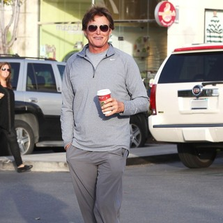 Bruce Jenner in Bruce Jenner Gets A Coffee to Go in Calabassas
