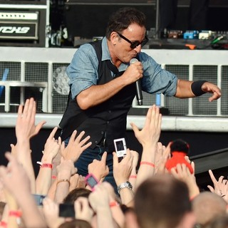 Bruce Springsteen Performs at The RDS