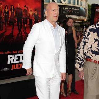 Bruce Willis in Los Angeles Premiere of Red 2