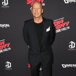 Bruce Willis - Los Angeles Premiere of Sin City: A Dame to Kill For
