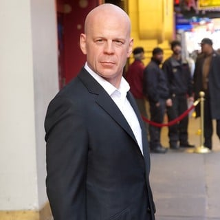 Bruce Willis in Bruce Willis Wax Figure Unveiling