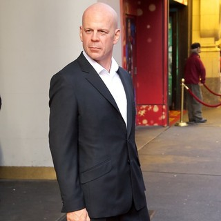Bruce Willis Wax Figure Unveiling