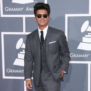 Bruno Mars in 54th Annual GRAMMY Awards - Arrivals