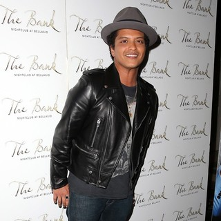 Bruno Mars in Bruno Mars Hosts A Party at The Bank Nightclub