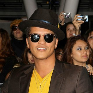 Bruno Mars in The Twilight Saga's Breaking Dawn Part I World Premiere