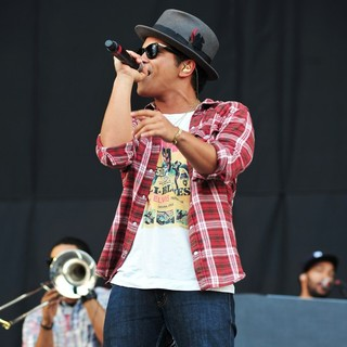 Bruno Mars in V Festival - Day Two