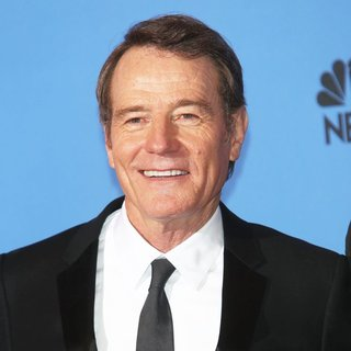 Bryan Cranston in 71st Annual Golden Globes - Press Room
