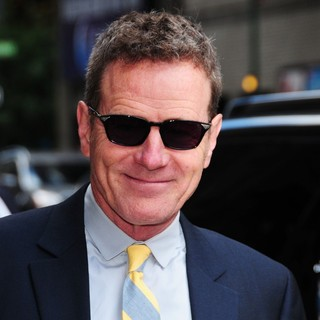 Bryan Cranston in Celebrities for The Late Show with David Letterman