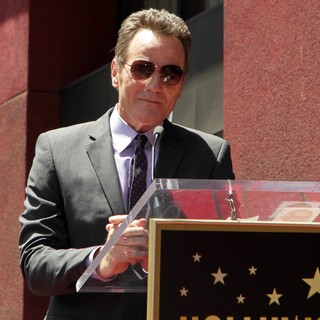 Bryan Cranston in Bryan Cranston Honored with Star on The Hollywood Walk of Fame