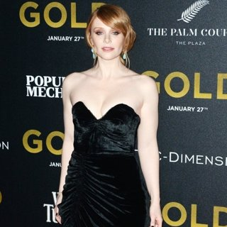 Bryce Dallas Howard-World Premiere of Gold - Red Carpet Arrivals