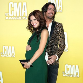 Lacey Buchanan, Jake Owen in 46th Annual CMA Awards