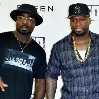 Young Buck, 50 Cent in 50 Cent Signs A Vodka Bottle