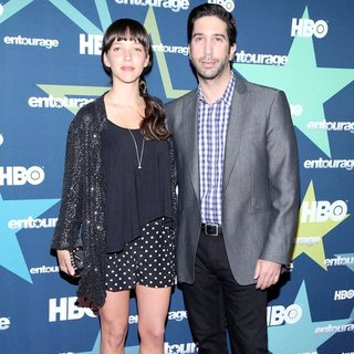 Zoe Buckman, David Schwimmer in Final Season Premiere of HBO's Entourage