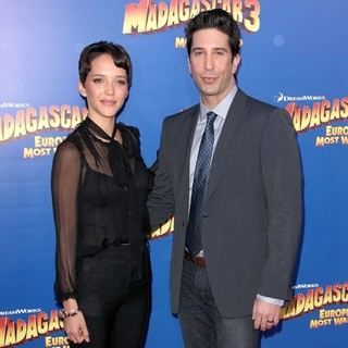 Zoe Buckman, David Schwimmer in New York Premiere of Dreamworks Animation's Madagascar 3: Europe's Most Wanted