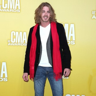 Bucky Covington in 46th Annual CMA Awards