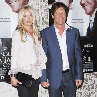 Kimberly Buffington, Dennis Quaid in Los Angeles Premiere of HBO Films The Special Relationship