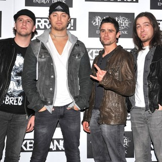 Bullet For My Valentine in Kerrang! Awards 2012 - Arrivals - bullet-for-my-valentine-kerrang-awards-2012-01