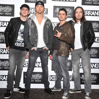Bullet For My Valentine in Kerrang! Awards 2012 - Arrivals