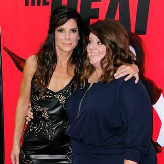 Sandra Bullock, Melissa McCarthy in New York Premiere of The Heat - Red Carpet Arrivals