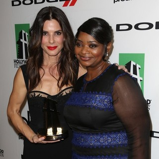 Sandra Bullock, Octavia Spencer in The 17th Annual Hollywood Film Awards