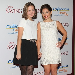 Natasha Bure, Candace Cameron in Saving Mr. Banks Los Angeles Premiere