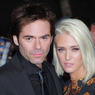 Billy Burke, Pollyanna Rose in The Premiere of The Twilight Saga's Breaking Dawn Part II