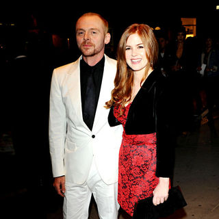 Simon Pegg, Isla Fisher in World Premiere of 'Burke and Hare' - Arrivals