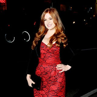 Isla Fisher in World Premiere of 'Burke and Hare' - Arrivals