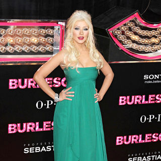 "Christina Aguilera in Los Angeles Premiere of ""Burlesque"""