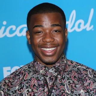 Burnell Taylor in FOX's American Idol Finalists Party