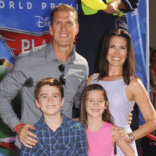 Regan Burns, Jennifer Burns in Los Angeles Premiere of Disney's Planes