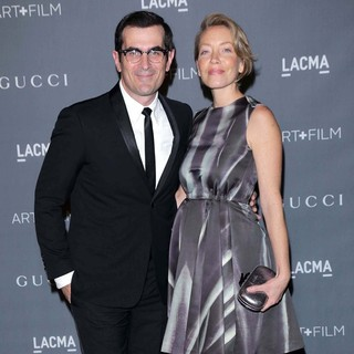 Ty Burrell, Holly Burrell in LACMA 2012 Art + Film Gala - Arrivals