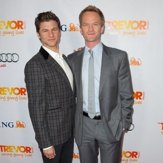 David Burtka, Neil Patrick Harris in The Trevor Project's 2011 Trevor Live! - Arrivals