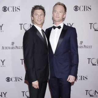 David Burtka, Neil Patrick Harris in The 65th Annual Tony Awards - Arrivals