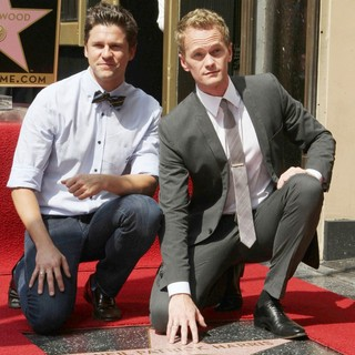 David Burtka, Neil Patrick Harris in Neil Patrick Harris Hollywood Walk of Fame Induction Ceremony