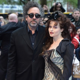 Tim Burton, Helena Bonham Carter in UK Premiere of Dark Shadows - Arrivals