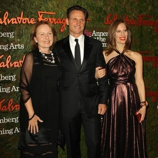 Kate Burton, Tony Goldwyn, Liz Goldwyn in Opening Night Gala of The Wallis Annenberg Center for The Performing Arts
