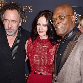 Tim Burton, Eva Green, Samuel L. Jackson-New York Premiere of Miss Peregrine's Home for Peculiar Children