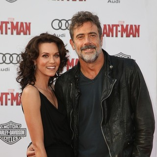 Hilarie Burton, Jeffrey Dean Morgan in Premiere of Marvel's Ant-Man - Red Carpet Arrivals