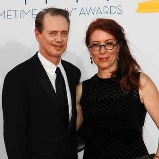 Steve Buscemi, Jo Andres in 64th Annual Primetime Emmy Awards - Arrivals