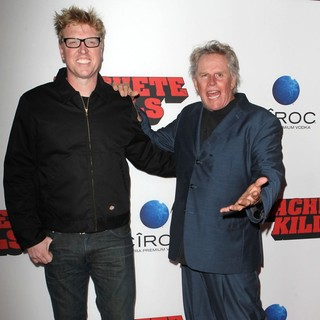 Jake Busey, Gary Busey in Premiere of Open Road Films' Machete Kills