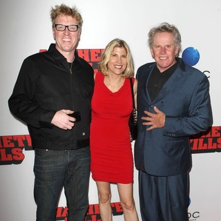 Jake Busey, Steffanie Sampson, Gary Busey in Premiere of Open Road Films' Machete Kills