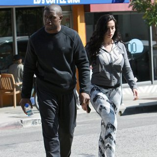 Reggie Bush and Lilit Avagyan Out Having Lunch