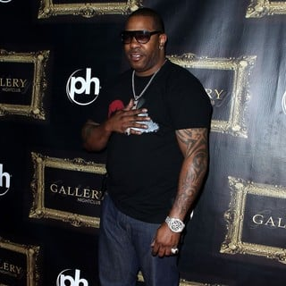 Busta Rhymes in Busta Rhymes Arrives to Perform at The Gallery Nightclub