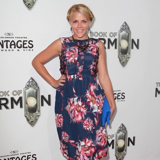 Busy Philipps in The Book of Mormon Opening Night - Arrivals