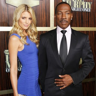 Paige Butcher, Eddie Murphy in Spike TV's Eddie Murphy: One Night Only