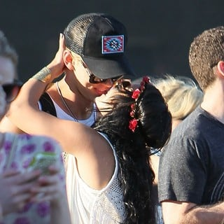 Vanessa Hudgens - Celebrities at The 2012 Coachella Valley Music and Arts Festival - Day 3