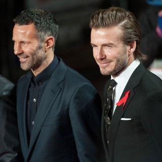 Nicky Butt, Ryan Giggs, David Beckham, Gary Neville in The World Premiere of The Class of 92 - Arrivals