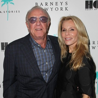 James Caan, Linda Stokes in Barney's New York Is Unveiling Substantial Renovations and Opening of Freds